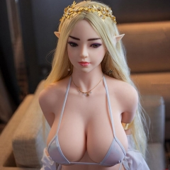 SEXDO 140CM Big Breast Elf Angel Attractive Real Like Sex Doll Kathryn
