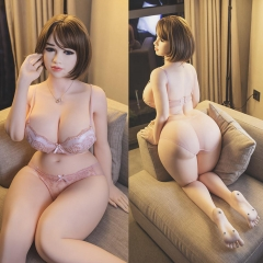 SEXDO 162CM Big Breast Mixed Blood Style Fat Woman Life Size Sex Doll Madalynn