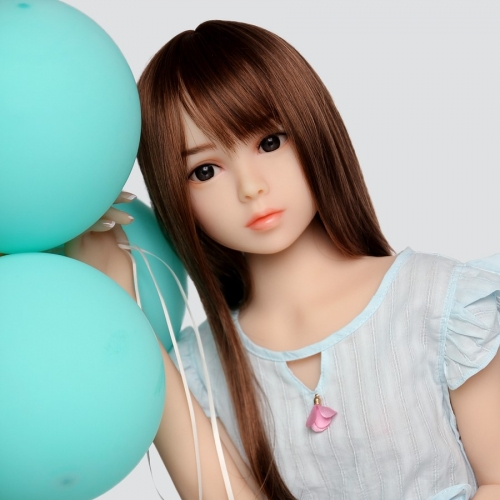 SEXDO New 100CM Flat Chest Love Doll Cute Little Girl Doll Saylor