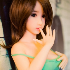 SEXDO 100CM Smart Little girl Sex Doll with Big Plump Breast Love Doll Melina
