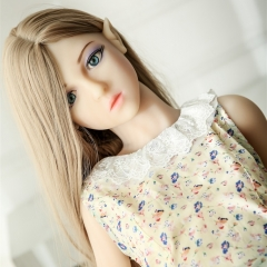 SEXDO New 132CM Small Lady Love Doll With Small Chest Cute Emma Elf